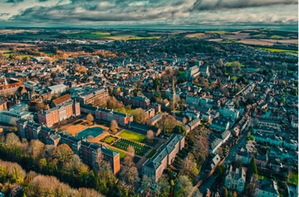 Over Winchester – Gilbert Yates Photography