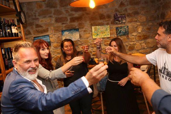 Sicilian wine tasting at Donna Luna