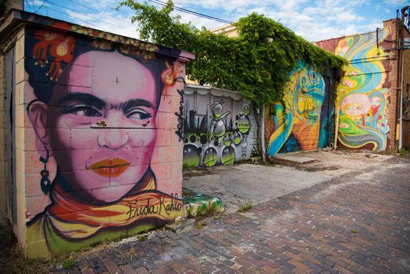 Frida Khalo, St. Pete Mural Tour