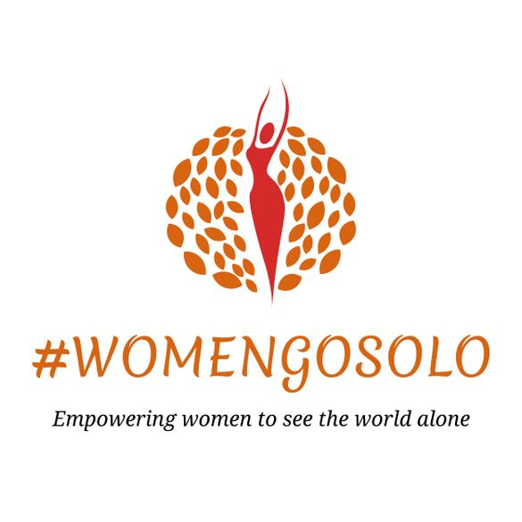#WomenGoSolo logo