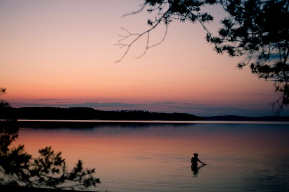 Spending time outside and relaxation go hand in hand in Finnish Lakeland