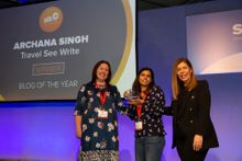 Lavina Dsouza (accepting on behalf of Archana Singh), Blog of the Year