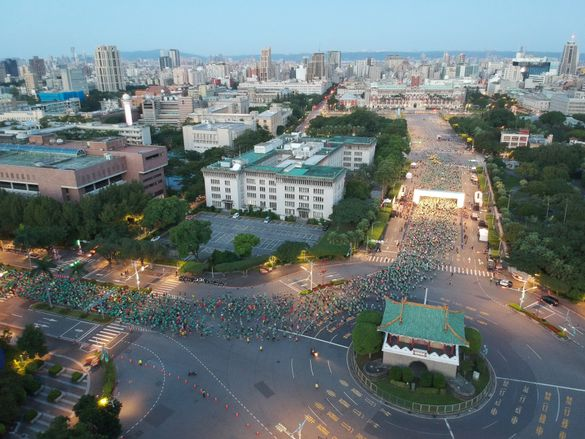 EVA AIR'S FIRST HALF MARATHON EVENT SEES 18,000 RUNNERS TAKE TO THE COURSE IN TAIPEI