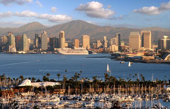 San Diego Skyline and Harbor