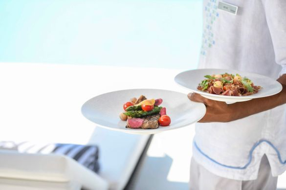Seafood at the Westin Maldives, one of the participants of the Baa Atoll Summer Festival.