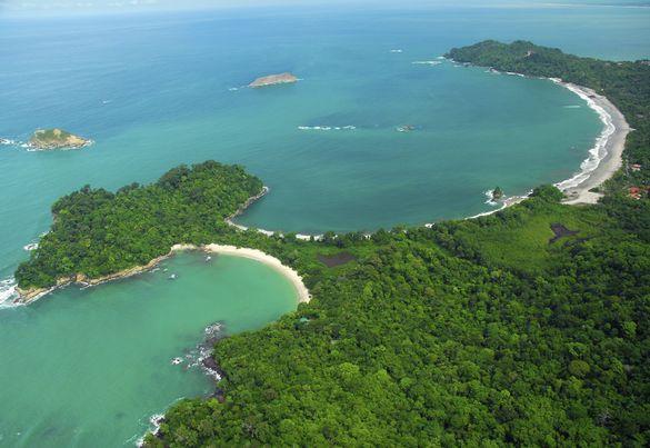 Coastline, Manuel Antonio National Park