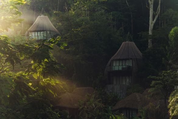 Keemala's Tree Pool Houses at Sunrise