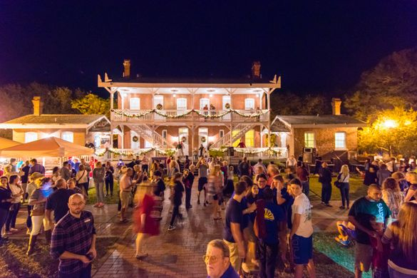 St. Augustine's Nights of Lights shines throughout the ancient city through Feberuary 2, 2020