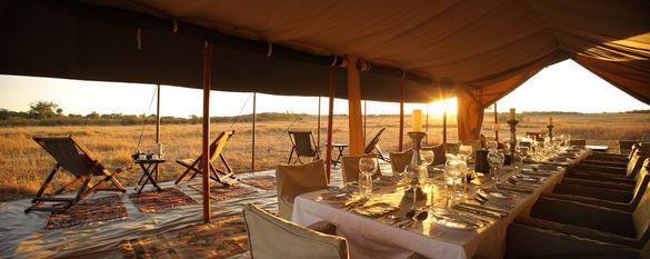 Nigel Archer Safaris, Mess Tent