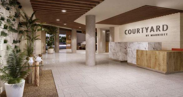 Lobby - Courtyard by Marriott Aruba Resort
