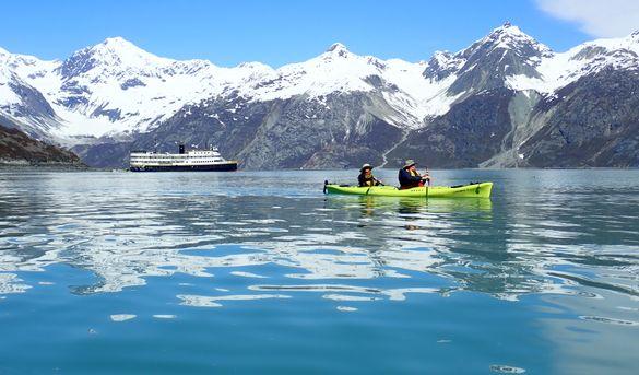 Kayaking in Glacier Bay National Park