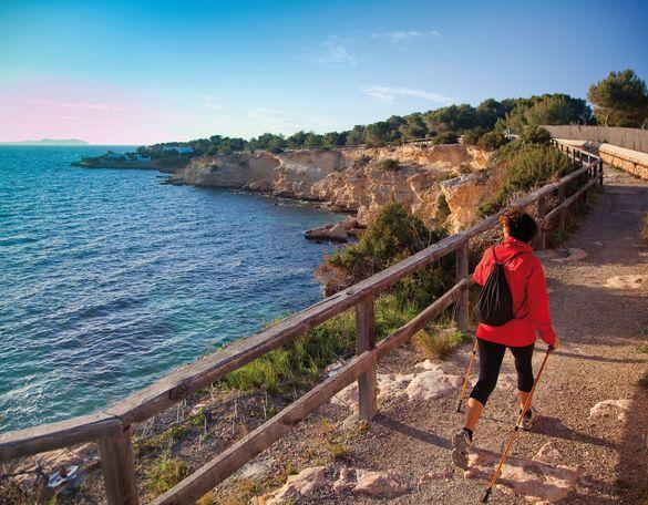 Nordic walking in Ibiza
