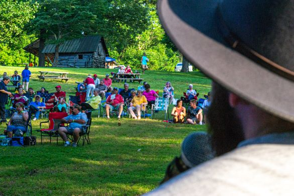 Summer concert at Historic Collinsville