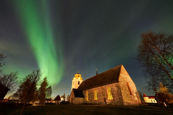 Northern Lights in Lulea
