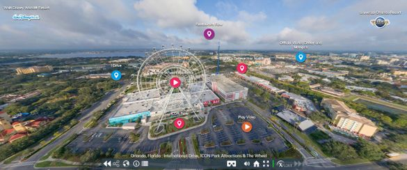 The Orlando Virtual Tour takes viewers into 85 experiences throughout Orlando, from theme parks and hotels to dining and shopping hot spots, with a 360-degree perspective.
