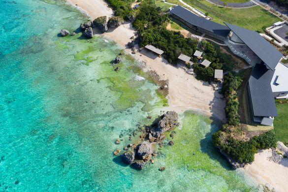HOSHINOYA Okinawa Banta Cafe Aerial View