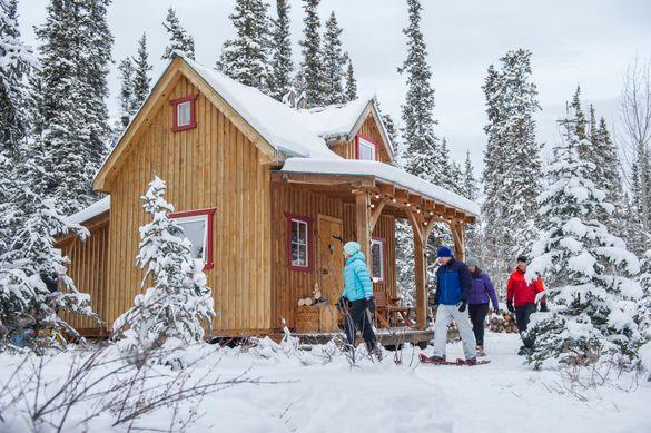 Winter escapes in the Yukon
