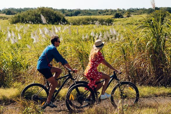 Explore Mauritius on bikes