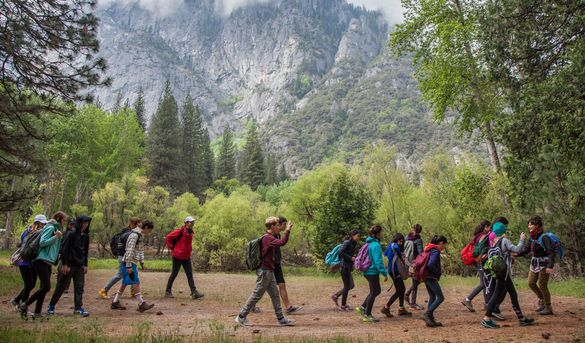 Make it a family outing to Yosemite this fall with NatureBridge