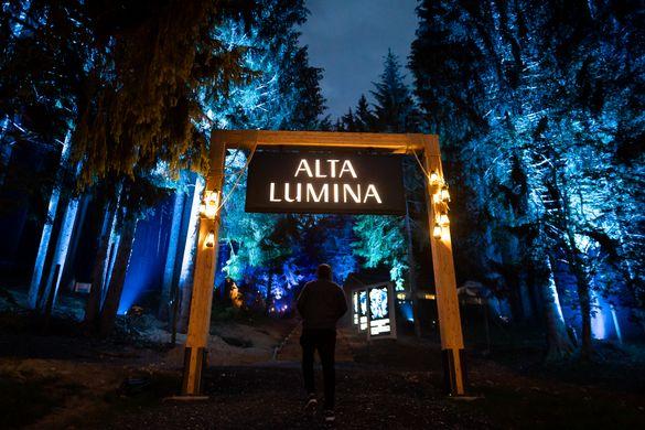 The Alta Lumina attraction