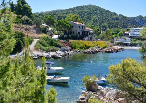 Atsitsa Bay, Skyros, Greece