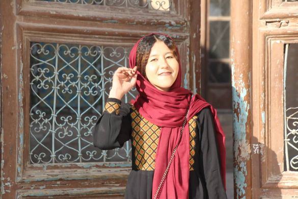 Fatima, Afghanistan's first female tour guide