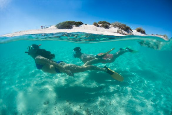 Turquoise Bay snorkelling