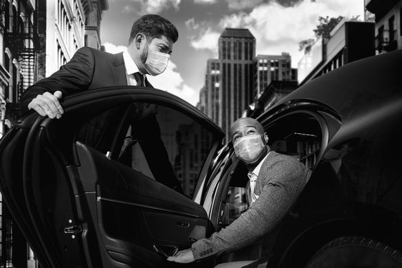 Blacklane's chauffeur hailing maintains the company's top quality, health and safety standards, fixed fares, and carbon offsets as its scheduled rides.