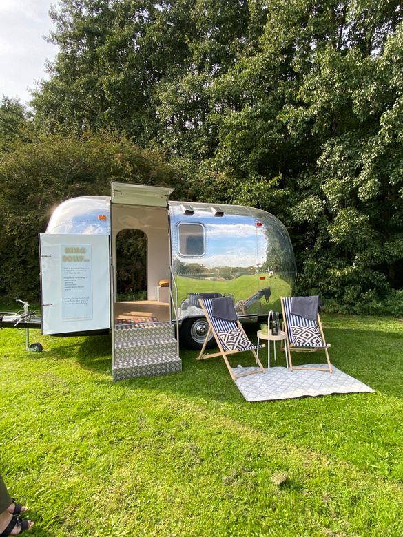 The vintage American Airstream has been added to YHA's camping and cabins offering at its youth hostel network in 2021