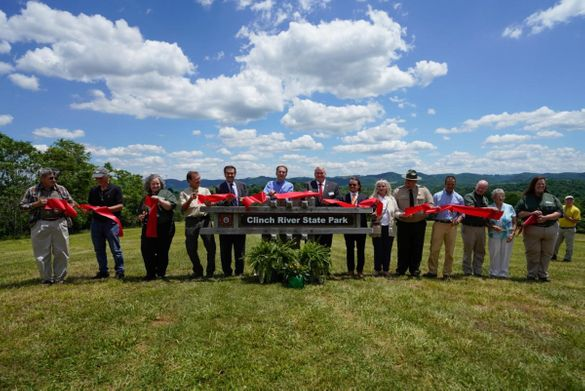 Ribbon Cutting for Clinch River State Park, Virginia