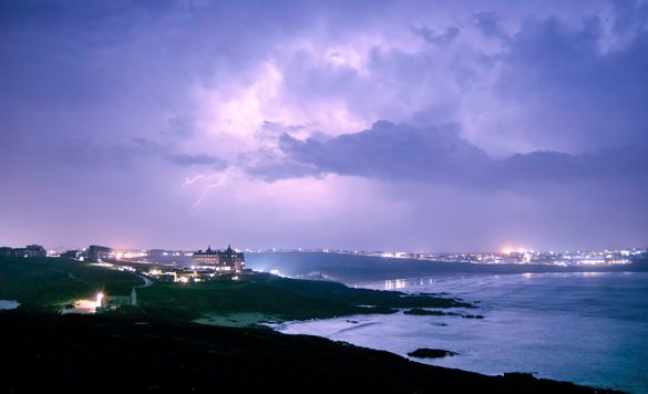 Storm Watching packages at The Headland are available from November.
