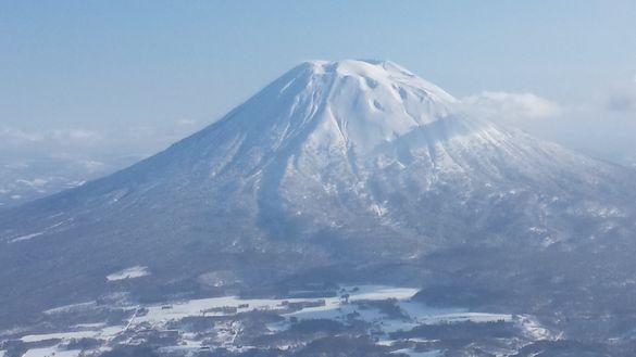 Skiing in Hokkaido Japan