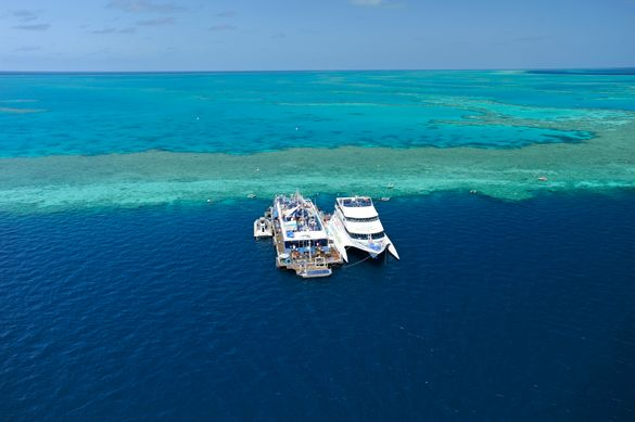 Preview: New Great Barrier Reef Pontoon Options in the