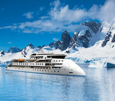 An impression of Aurora Expedition's brand new purpose-built ship