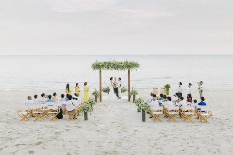 The Library, Koh Samui, Thailand, beach wedding