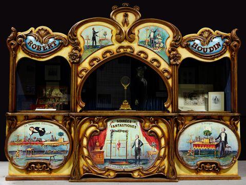 Houdin Cabinet at The British Magic Museum