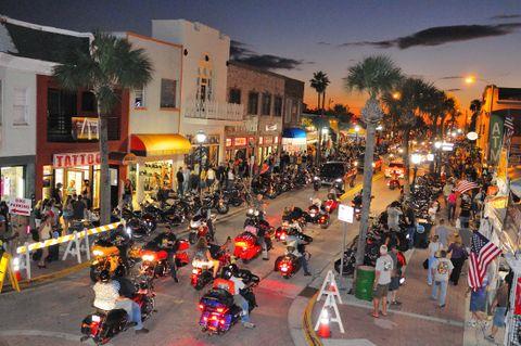 Daytona Beach Biketoberfest® 2017 25th Anniversary October 19-22