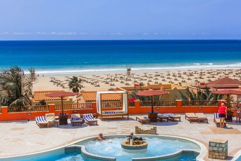 View of the beach from Royal Horizons Boa Vista