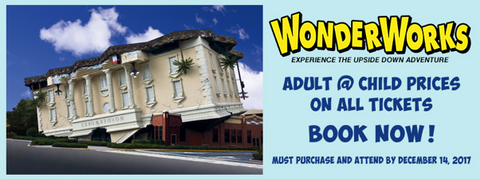 WonderWorks and Outta Control Magic Comedy Dinner Show
