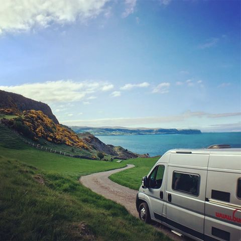 Bunk Camper on Northern Ireland's Causeway Coast