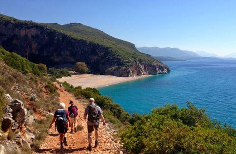 Walking in Southern Albania