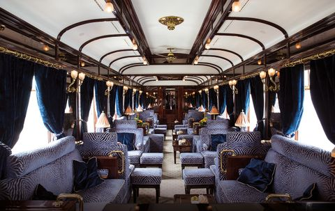 Luxury Gold's guests experience the romance and elegance of the Venice Simplon-Orient-Express