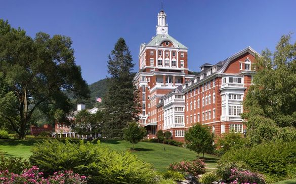 The Omni Homestead Resort (1766) Hot Springs, Virginia