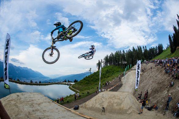 Crankworx Whip Off at Bikepark Innsbruck