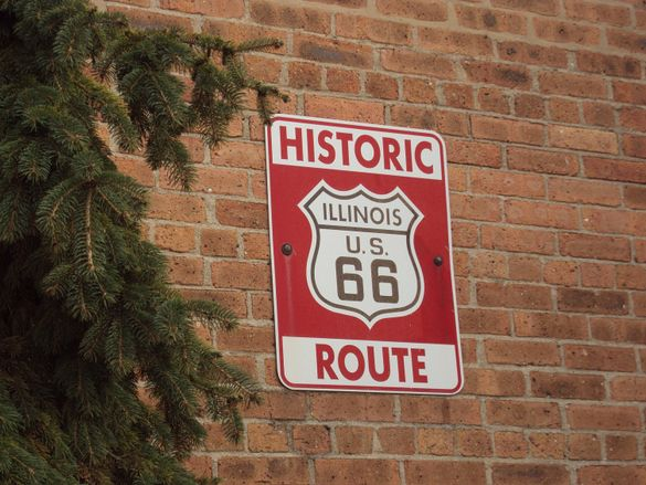 Route 66 is a 300-mile stretch of American roadway, passing through historic DuPage County