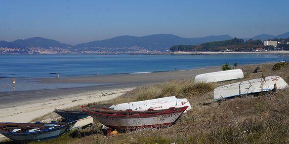 Boats near Vigo, Portuguese Coastal Camino
