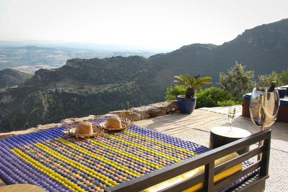 Enjoy panoramic views across three countires