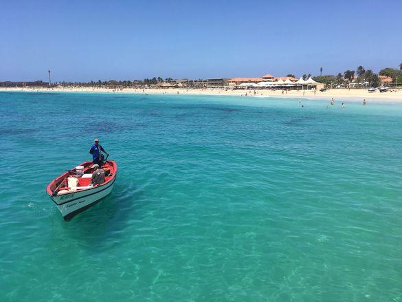 Santa Maria Beach, Sal island