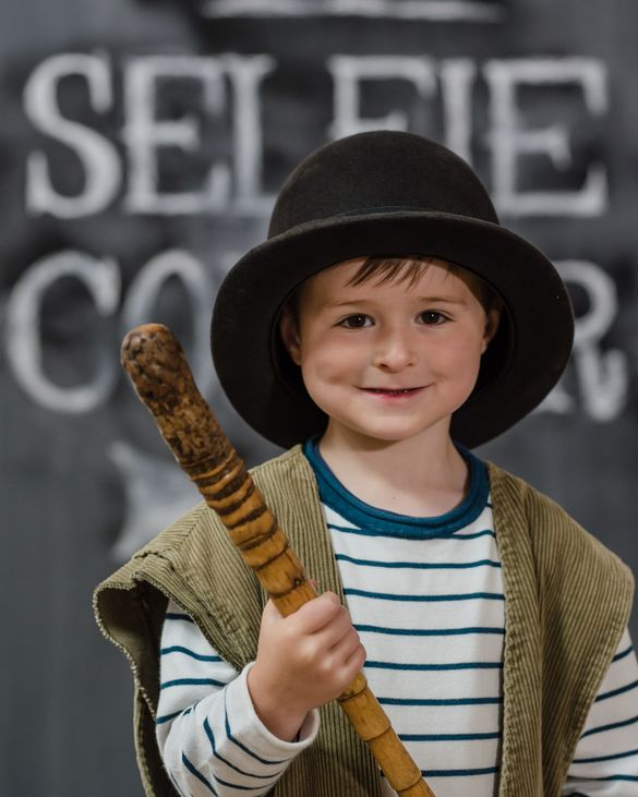 Dress up and take a selfie at Blists Hill Victorian Town