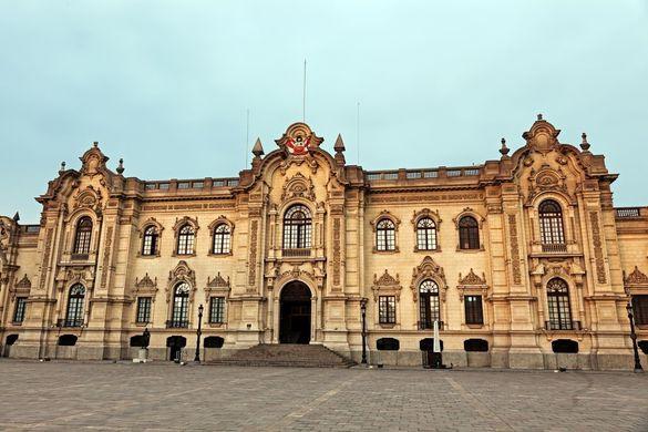 Palacio de Gobierno, Plaza Mayor, Lima, Peru